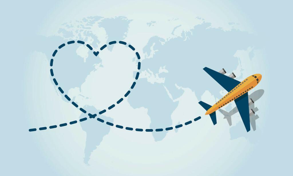 TÅLER HJERTET FLYTUREN? De fleste kan reise med fly, hvis hjertesykdommen er behandlet og stabil. Illustrasjon: NTB Scanpix/Shutterstock