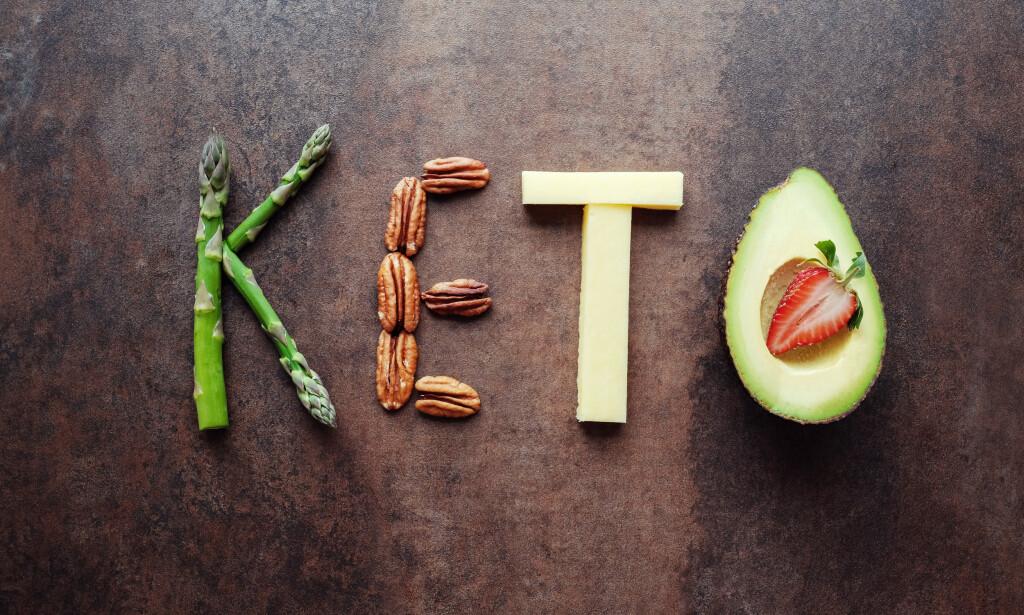 KETOGEN DIETT: Ketogene dietter innebærer et kosthold med høyt innhold av fett, og lavt innhold av karbohydrater. Foto: NTB Scanpix
