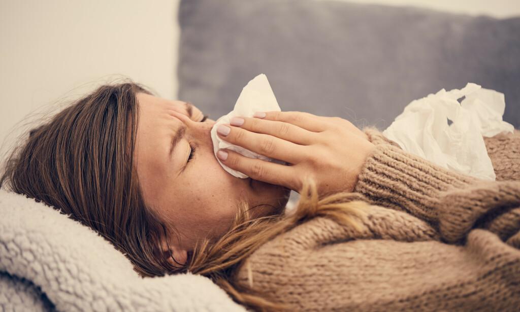 INFLUENSA: Årets influensasesong har vært relativt mild, men rammet barn og unge hardere enn normalt. Foto: NTB Scanpix/Shutterstock