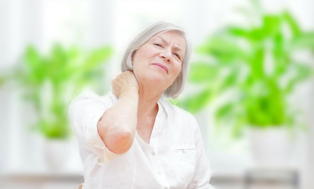 LEDDSMERTER er et av hovedsymptomene ved fibromyalgi Foto: NTB Scanpix/Shutterstock