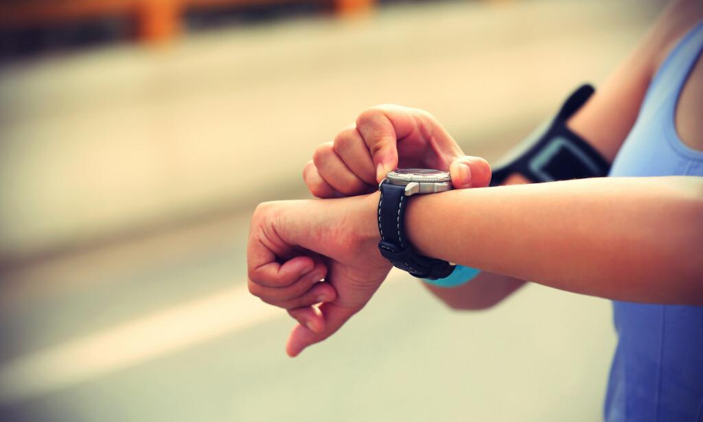 PULS: Høyere puls øker forbrenningen. Foto: Shutterstock / NTB Scanpix