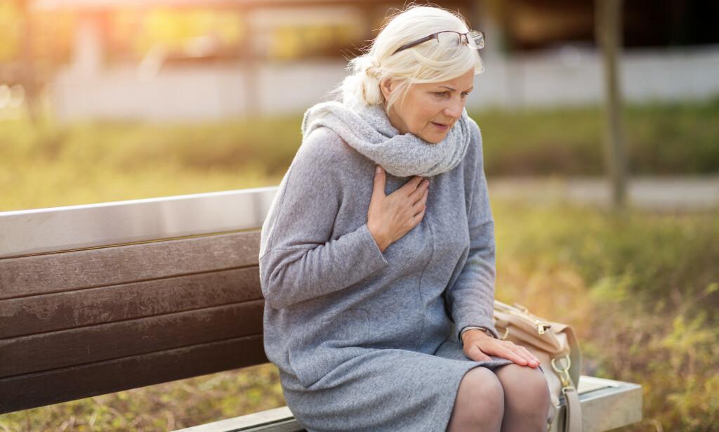 HJERTESYK: Det er spesielt eldre med underliggende og kroniske sykdommer som er utsatt for å bli alvorlig syke av coronaviruset. Foto: Shutterstock / NTB Scanpix.
