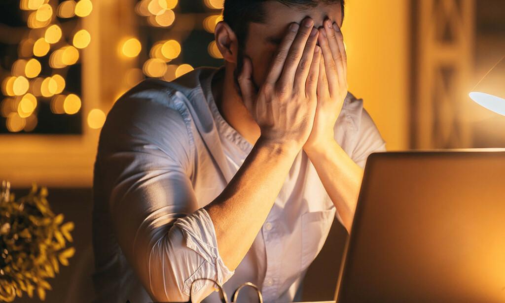 ANGST FOR SYKDOM: Uansett hva som står på nett virker det beroligende i beste fall bare i kort tid, hvis du har helseangst. FOTO: NTB Scanpix/Shutterstock
