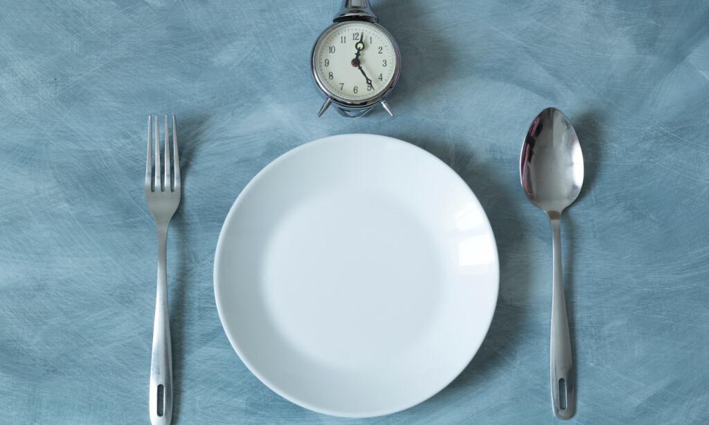FASTE handler mer om når du spiser enn hva du spiser. Foto: NTB Scanpix /Shutterstock