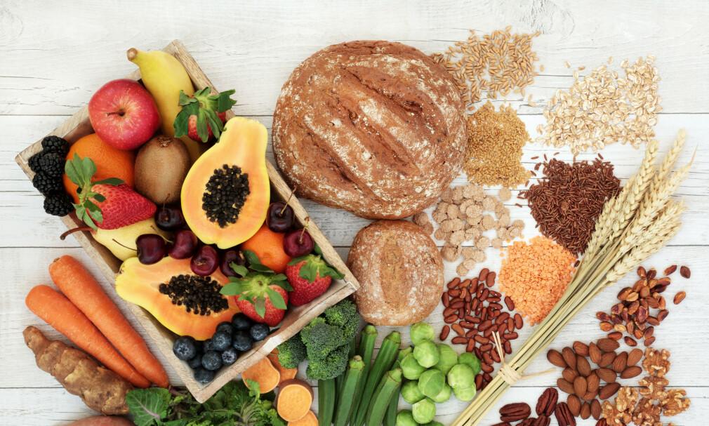 KARBOHYDRATER finnes i mange ulike matvarer, og har en plass i et sunt og variert kosthold. Foto: NTB Scanpix /Shutterstock