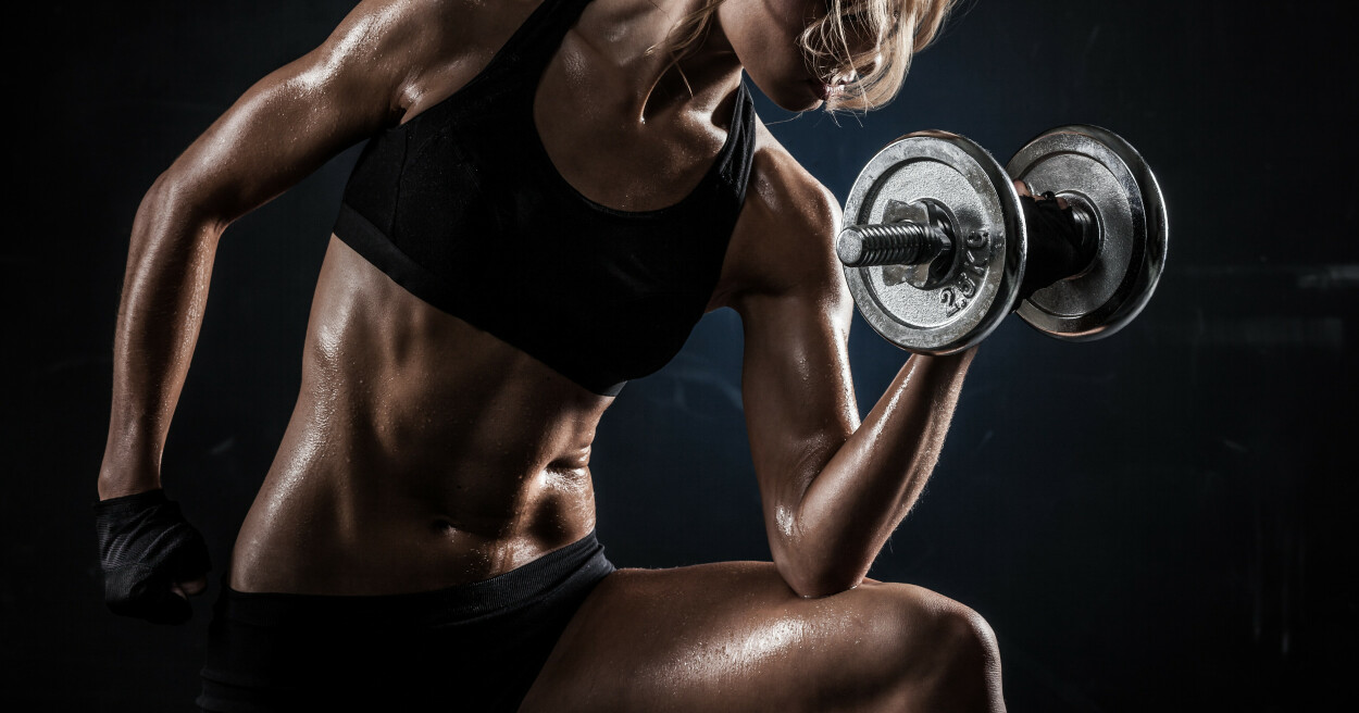 STØRRE MUSKLER: Anabole steroider gir økt muskelvekst, men det har også en rekke negative konsekvenser. Illustrasjonsfoto: Shutterstock/NTB Scanpix