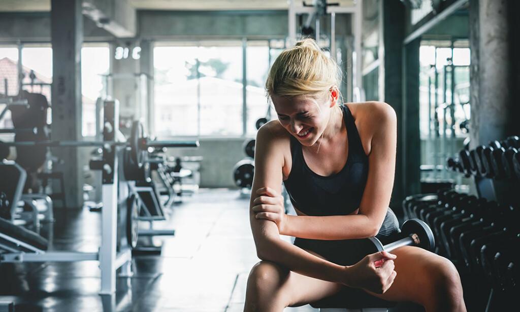 OVERBELASTNING: Symptomer i kne, ankel, legg, hofte og hæl, skulder og albue. Foto: Nattakorn_Maneerat / Shutterstock / NTB