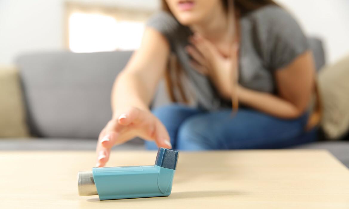 ASTMA HOS VOKSNE: Astma er en lidelse som oftest oppstår i barnealder, men tilstanden kan oppstå i voksen alder uten at man har hatt astma som barn. Foto: Antonio Guillem / NTB