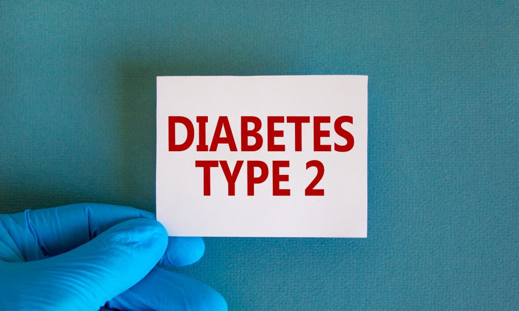 DIABETES TYPE 2: Diabetes type 2 oppstår hovedsakelig hos voksne, men de siste årene har det vært en utvikling der man ser flere og flere yngre mennesker med tilstanden. Foto: Dmitry Demidovich / NTB