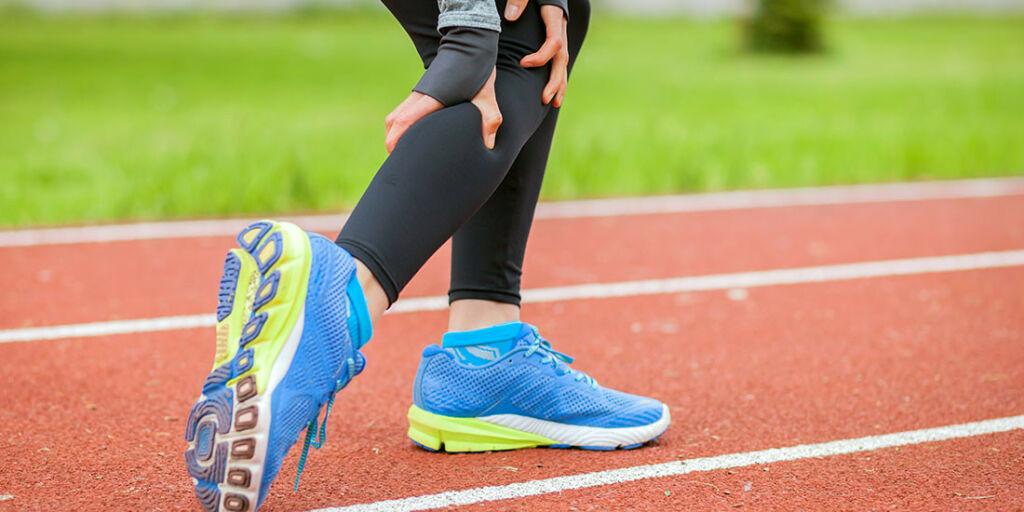 image: Krampe i ett bein ved gange og jogging. Muskellosjesyndrom?