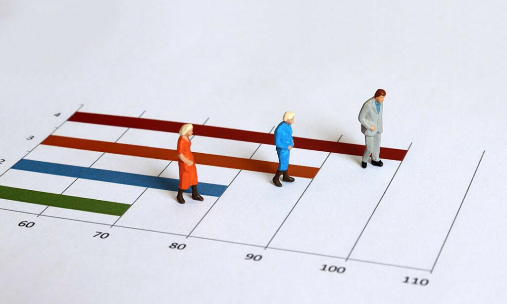 LANG LEVETID: Kvinner blir eldst, men nå øker spesielt menn også sin livstid. Foto: Hyejin Kang / Shutterstock / NTB