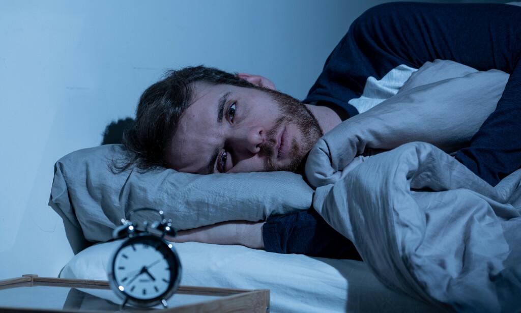 SØVNLØSHET: Søvnløshet kan medføre vansker med innsovning, oppvåkninger på natten og dårlig søvnkvalitet. Foto: Sam Wordley / NTB