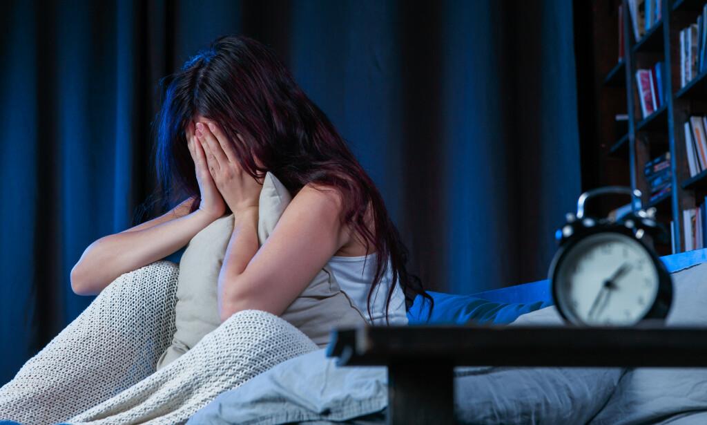 PROBLEMER MED SØVNEN? Det finnes mange ulike søvnforstyrrelser som kan gjøre det vanskelig å få tilstrekkelig med god søvn. Foto: Sergey Mironov / NTB