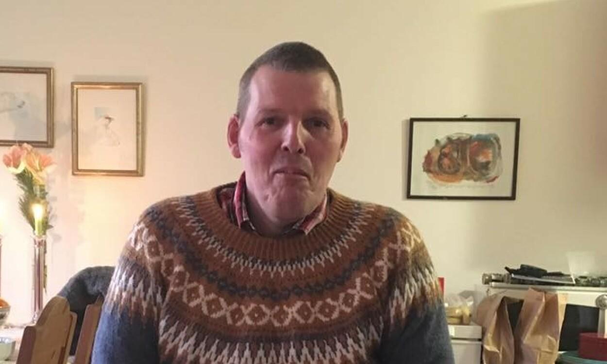 ØNSKER ÅPENHET: John Aksel Slørdal (51) ble diagnostisert med XYY syndrom som 16-åring. Foto: Privat