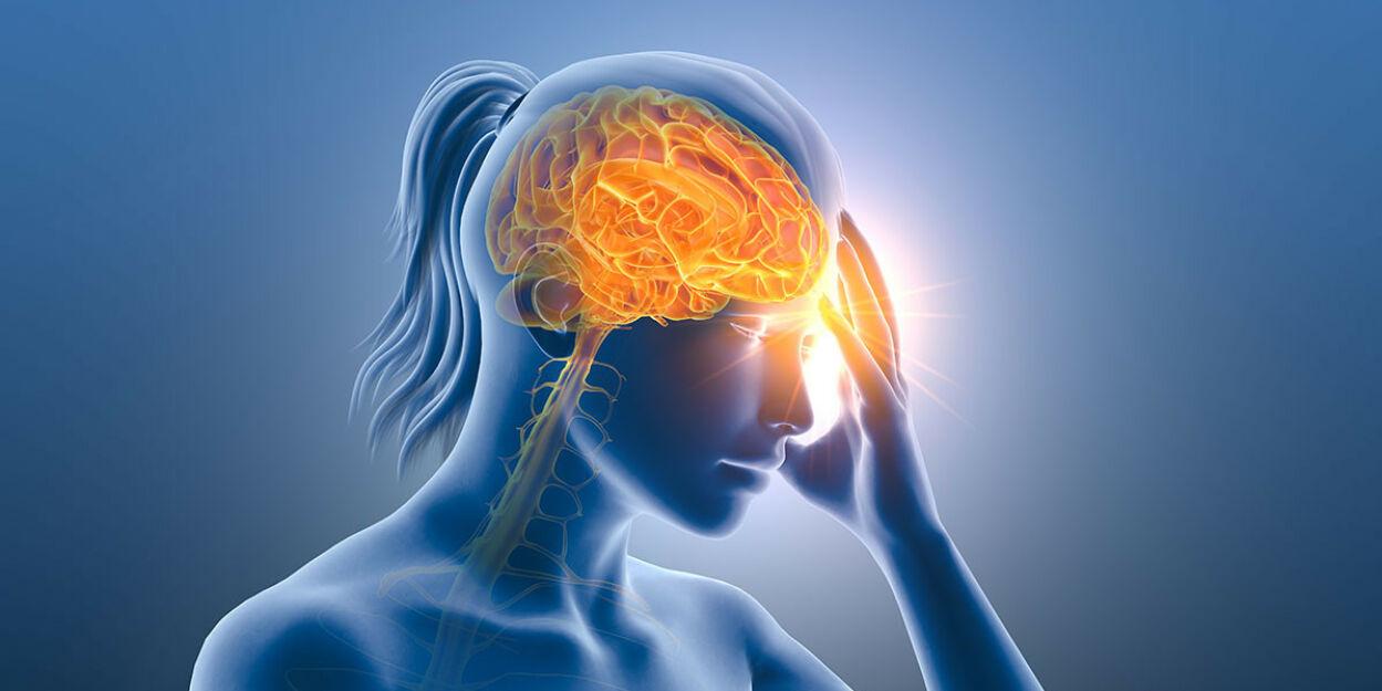 image: Anfallsvis ensidig hodepine i en måneds tid