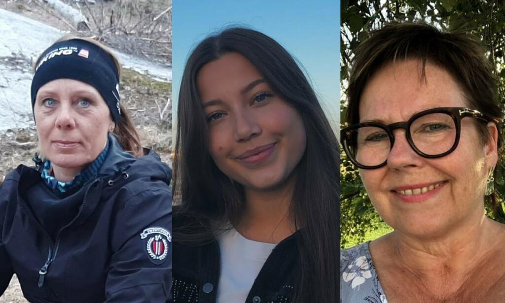 LIVET ETTER COVID 19: En lærer, en student og en forfatter - alle tre forteller de sliter med ettervirkninger etter korona. Foto: Privat