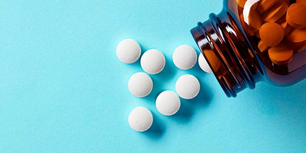 image: Mange fysiske plager uten påvisbar årsak. Medikamentbivirkning?