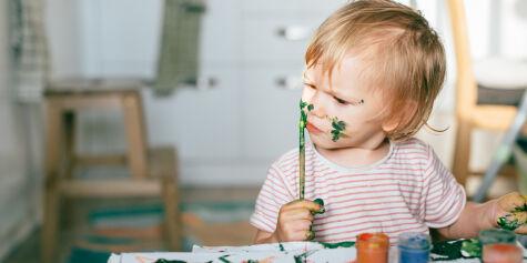 image: Hva gjør du hvis barnet ditt putter noe i nesen?