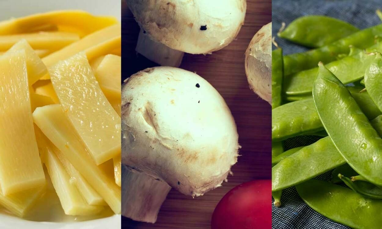 MÅ TILBEREDES: Noen rå matvarer kan gjøre deg syk. Foto: Brent Hofacker / OlegRi / Brent Hofacker / Shutterstock / NTB