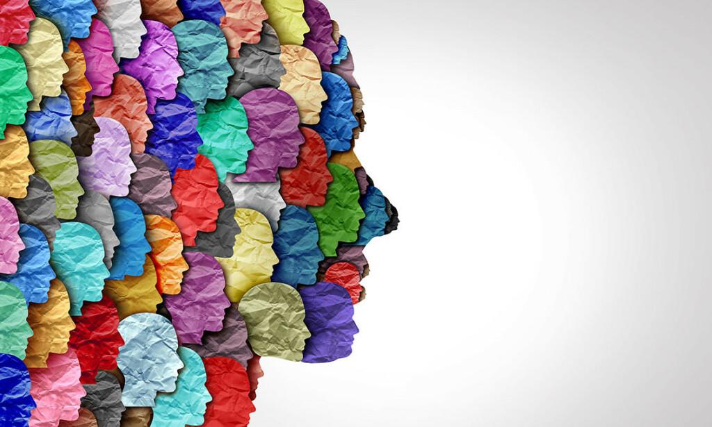 ADHD OG MANGFOLD: Mennesker med ADHD er like ulike som mennesker uten ADHD, men noen symptomer opptrer ofte for de med diagnosen. llustrasjon: Lightspring / Shutterstock / NTB