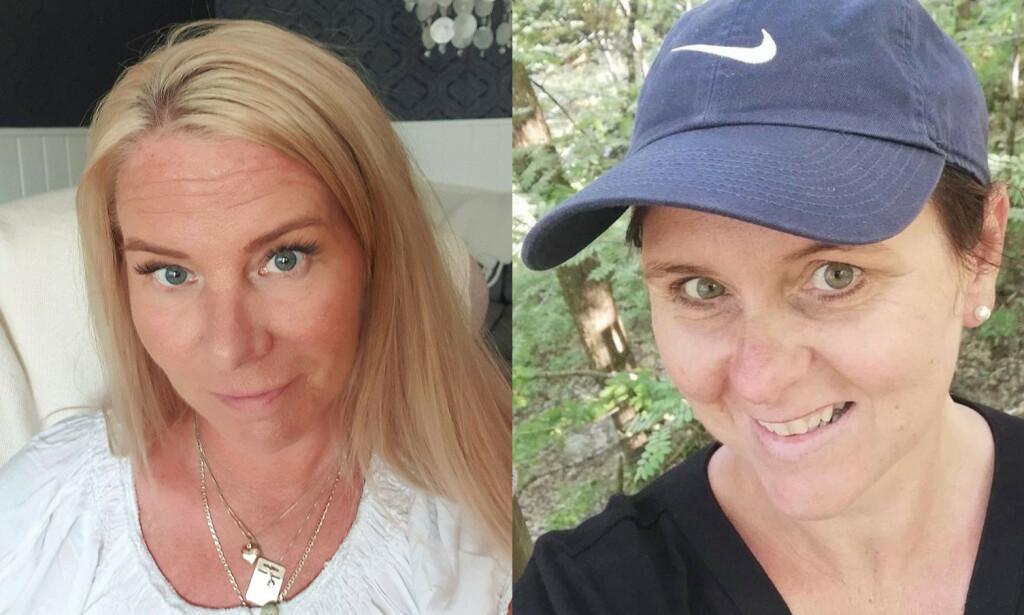 FORTELLER OM SIN ERFARING: Brita (til venstre) og Susanne (til høyre) er rammet av fibromyalgi. Foto: Privat.
