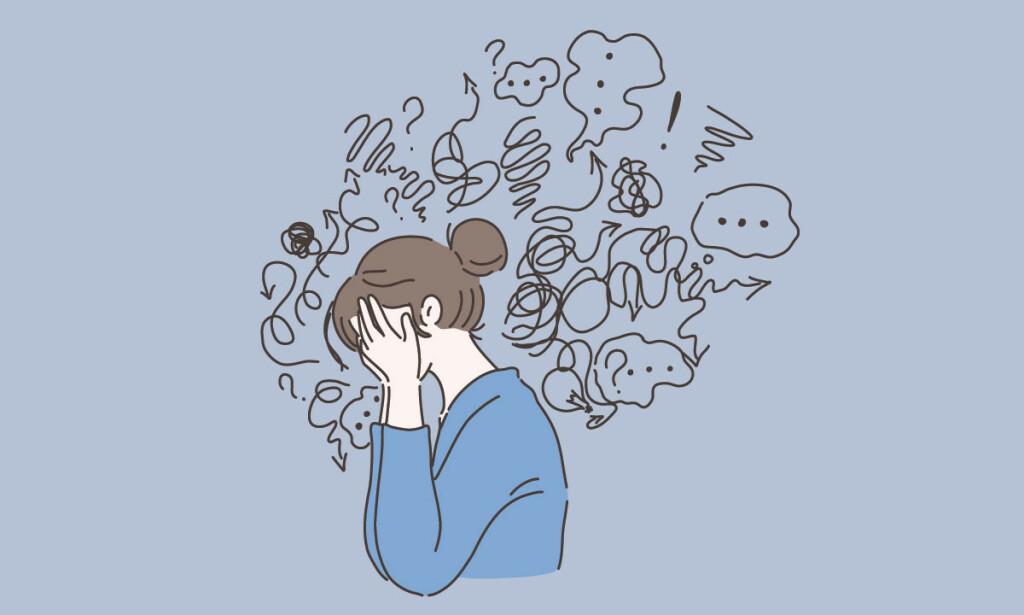 ARV OG DEPRESJON: Er depresjon arvelig? Det trenger absolutt ikke være slik, men noen ganger kan det skje. Illustrasjon: Vectorium / Shutterstock / NTB