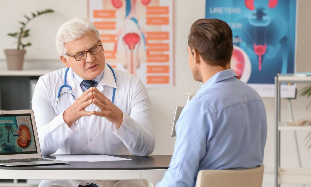 DIAGNOSE: Det er to viktige grunner til å oppsøke lege ved erejksjonssvikt. Foto: Pixel-Shot / Shutterstock / NTB