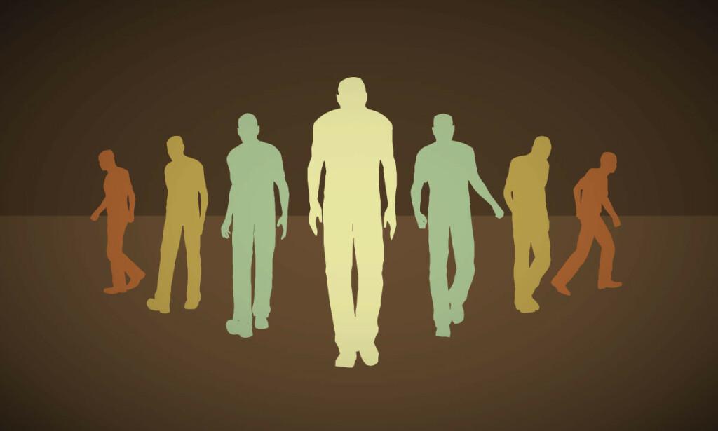 MANGE SLITER MED IMPOTENS: Over halvparten av alle menn vil oppleve ereksjonssvikt. Illustrasjon: fluidworkshop / Shutterstock / NTB