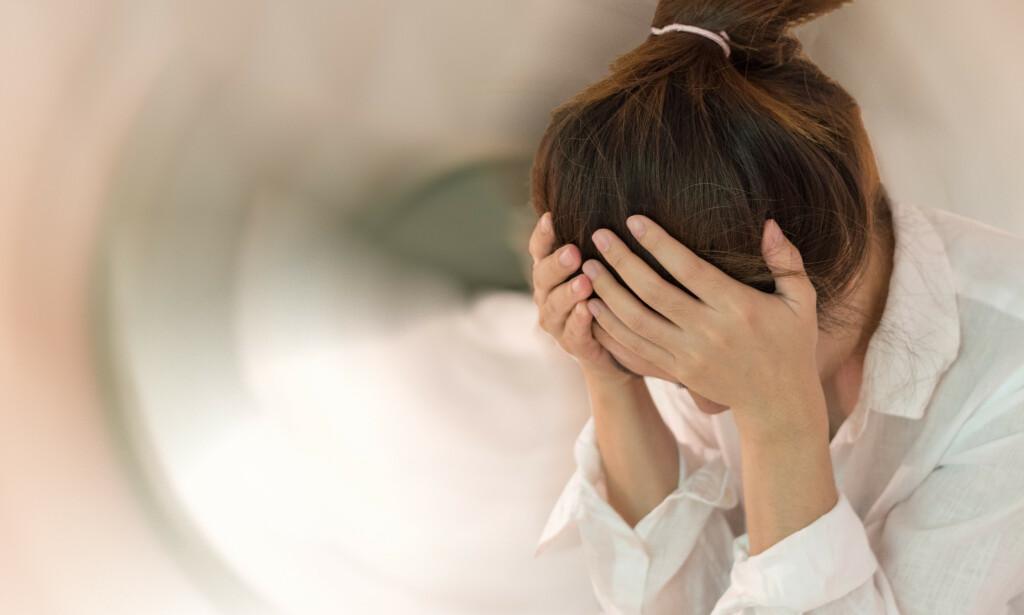 SVIMMELHET: Ved krystallsyke oppstår svimmelheten typisk ved hodebevegelser. Foto: BlurryMe / Shutterstock / NTB