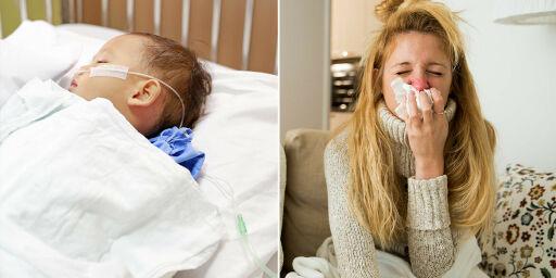 image: Smitten øker: Hvem blir syke av RS-virus?